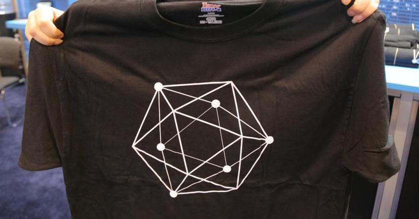 Il logo di una azienda di  blockchain, Hyperledger